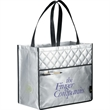 Quilted Laminated Non-Woven Carry-All Tote - Quilted Laminated Non-Woven Carry-All Tote