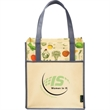 Big Grocery Vintage Matte Laminated Non-Woven Tote - Big Grocery Vintage Matte Laminated Non-Woven Tote