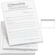"Long Run Spot Color 3"" x 5"" Custom Post-it(R) Notes - 3"" x 5"" custom printed notepad; large run. Imprint 1 color."
