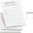 "Long Run Spot Color 4"" x 4"" Custom Post-it(R) Notes - 4"" x 4"" custom 25-sheet notepad; long run. Imprint 1 color."