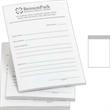 """Long Run Spot Color Post-it(R) Notes - 4"""" x 6"""" - 4"""" x 6"""" custom printed notepad; long run."""