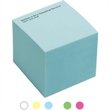 """Short Run Formatted Post-it(R) Notes Half Cube - 2 3/4"""" 300 sheet formatted self adhesive memo cube with 1 color imprint."""