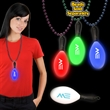 """7 1/2"""" Light Up LED Maraca with attached j-hook medallion - 7 1/2"""" light up LED maraca with attached j-hook medallion."""