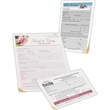 "Long run full color business forms - 8 1/2"" x 11"" Large run full color business forms."