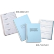 "Receipt Book - 7 3/8"" x 11"" - 2-part form receipt booklet, 3 receipts per page, 252 sets per book."