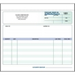 "Snap set purchase order forms - Snap set 2-part purchase order forms, 8 1/2"" x 7""."