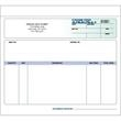 "Snap set purchase order forms - Snap set 3-part purchase order forms unruled, 8 1/2"" x 7""."