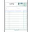 "Snap set purchase order forms - Snap set 3-part purchase order forms, 8 1/2"" x 11""."