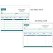 "Snap Set Invoice Forms - Snap set invoice forms, 8 1/2"" x 7""."