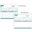 "Snap set invoice forms - Snap set 3-part invoice forms, 8 1/2"" x 7""."