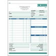 "Snap set job invoice forms - Snap set 2-part job invoice forms, 8 1/2"" x 11""."