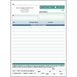 "Snap set contractor invoice forms - Snap set 3-part contractor invoice forms, 8 1/2"" x 11""."
