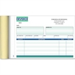 "Invoice Books - 7 3/4"" X 5 1/2"" 2-part Rulled Invoice Book, 50 sets per book."