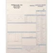 "Snap set HVAC service order forms - Snap set 2-part or 3 part HVAC service order forms, 8 1/2"" x 11""."