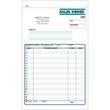 "Snap set sales order forms - Snap set 3-part sales order forms, 5 1/2"" x 8 1/2""."