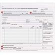 "Bill of Lading Short Form - Snap set 3-part Bill of Lading, Long form, 8 1/2"" x 7""."