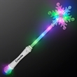 Frozen Snowflake LED Winter Party Wands