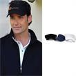 Mesh Visor - 100% polyester mesh visor with moisture-wicking technology