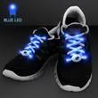 Blue LED Shoelaces for Night Fun Runs