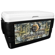 52 Quart Ice Chest with Oil Field Wrap - 52 quart ice chest with camouflage wrap.