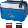 KOOZIE (R) Deluxe Horizontal Kooler - Deluxe Horizontal Kooler. Main compartment featuring double zippers.  Front zippered pocket.  Interior side mesh compartment.