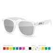 Mirror Sunglasses - Mirrored Sunglasses with Side Imprint. No setup fee!