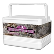 Legend 12 Can Cooler with King's Camo Desert Wrap - 12 can cool with camouflage wrap.