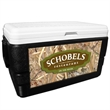 52 Quart Ice Chest with King's Camo Field Wrap - 52 quart ice chest with camouflage wrap.