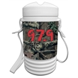 Mossy Oak Break Up-Infinity 1 Quart Beverage Igloo Cooler - 1 quart cooler wrapped with Camo.