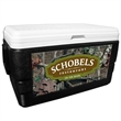 52 Quart Ice Chest with Mossy Oak Break-Up Infinity Wrap - 52 quart ice chest with camouflage wrap.