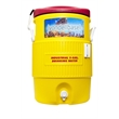 Igloo Industrial 5 Gallon Beverage Cooler - Industrial 5 Gallon Jug Beverage Cooler red/yellow. Great for outdoors, sports, golf, and job sites.