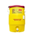 Igloo Industrial 10 Gallon Beverage Cooler - Industrial 10 Gallon Jug Beverage Cooler red/yellow. Great for outdoors, sports, golf, and job sites.