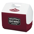 Igloo Playmate Elite Cooler (Diablo Red) - 30 can, 16 quarts cooler with a tent-shaped locking lid.