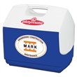 Igloo Playmate Elite Cooler (Majestic Blue) - 30 can, 16 quarts cooler with a tent-shaped locking lid.