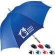 Trekker Traveler umbrella - Traveler umbrella with metal shaft with faux wood handle.