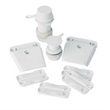 Ice Chest Universal Parts Kit - Replacement parts kit includes latches, hinges and drain plugs that fit most Igloo rectangular-shaped coolers, sized 25-165 quarts
