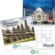 """Kingswood Collection Wonders of the World Wall Calen - 13 month spiral binding wall calendar, 10 3/8""""W x 10""""H.."""