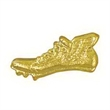 Chenille Pin WINGED TRACK SHOE