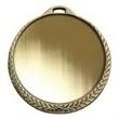"""2 1/4"""" Vibraprint Insert Medal in Gold"""