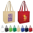 Brand Gear™ Grocery Shopping Tote™ - Heavyweight 90 gram polypropylene grocery shopping tote bag.