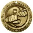 3'' World Class Martial Arts Medallion (G)