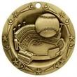 3'' World Class Baseball Medallion (G)
