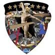 "3"" Color Shield Medallion GYMNASTICS (Female)"