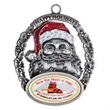 Holiday Ornament Vibraprint - Santa
