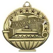 """2"""" Academic Performance Medal HONOR ROLL in Gold"""