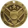 3'' World Class Softball Medallion (G)