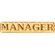 Service Lapel Pin MANAGER