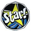"2"" Decagon Color Medal STAR"