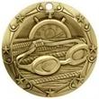 3'' World Class Swimming Medallion (G)