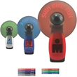 Programmable Lighted Message Fan - Programmable message fan with batteries and lanyard included.